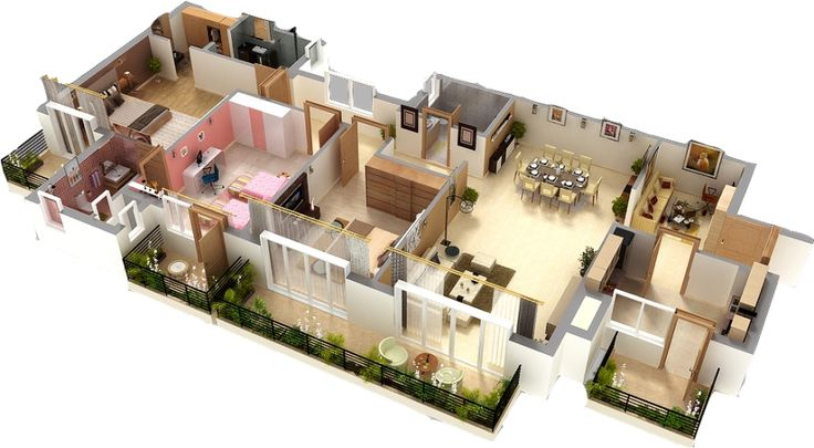 for Revit architecture modern house design